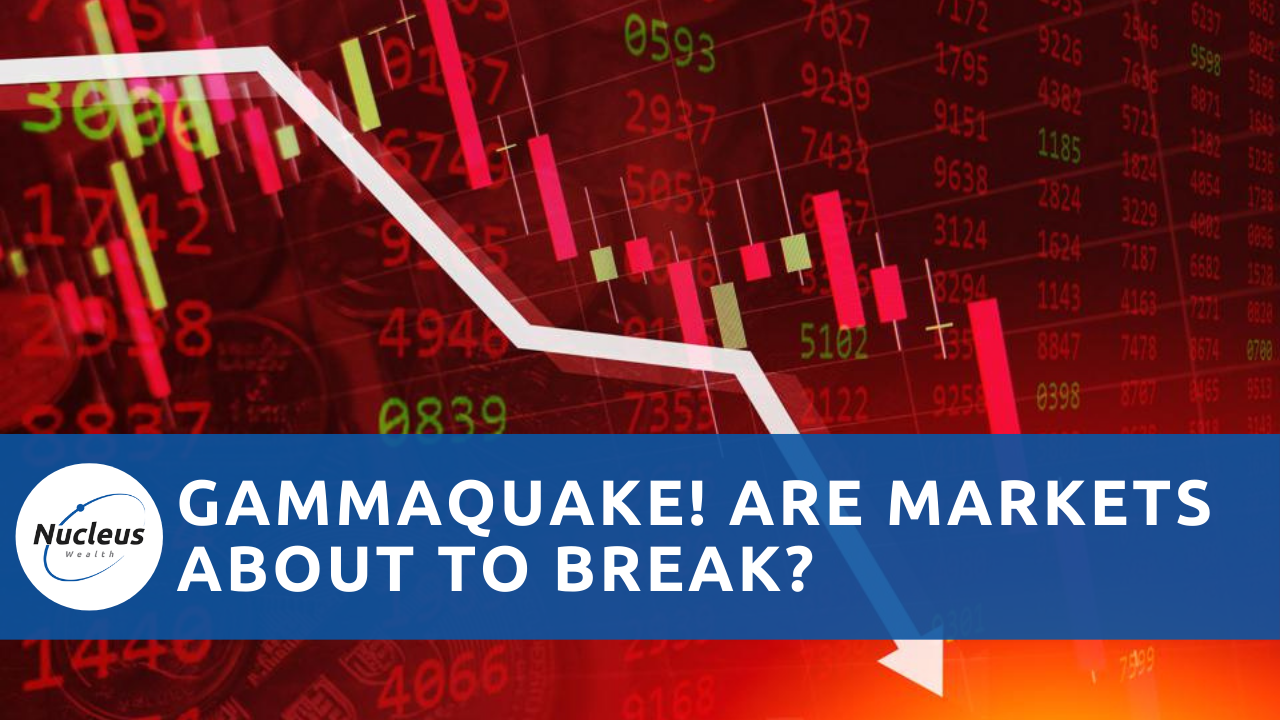 Gammaquake! Are markets about to break? Podcast thumbnail