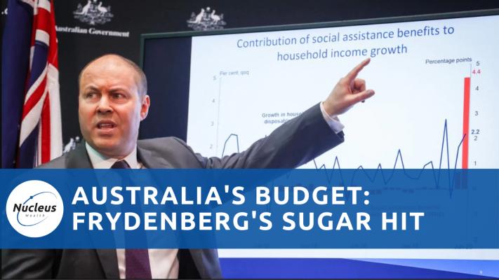 Australias budget frydenberg podcast thumbnail