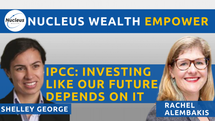IPCC Investing like our future depends on it
