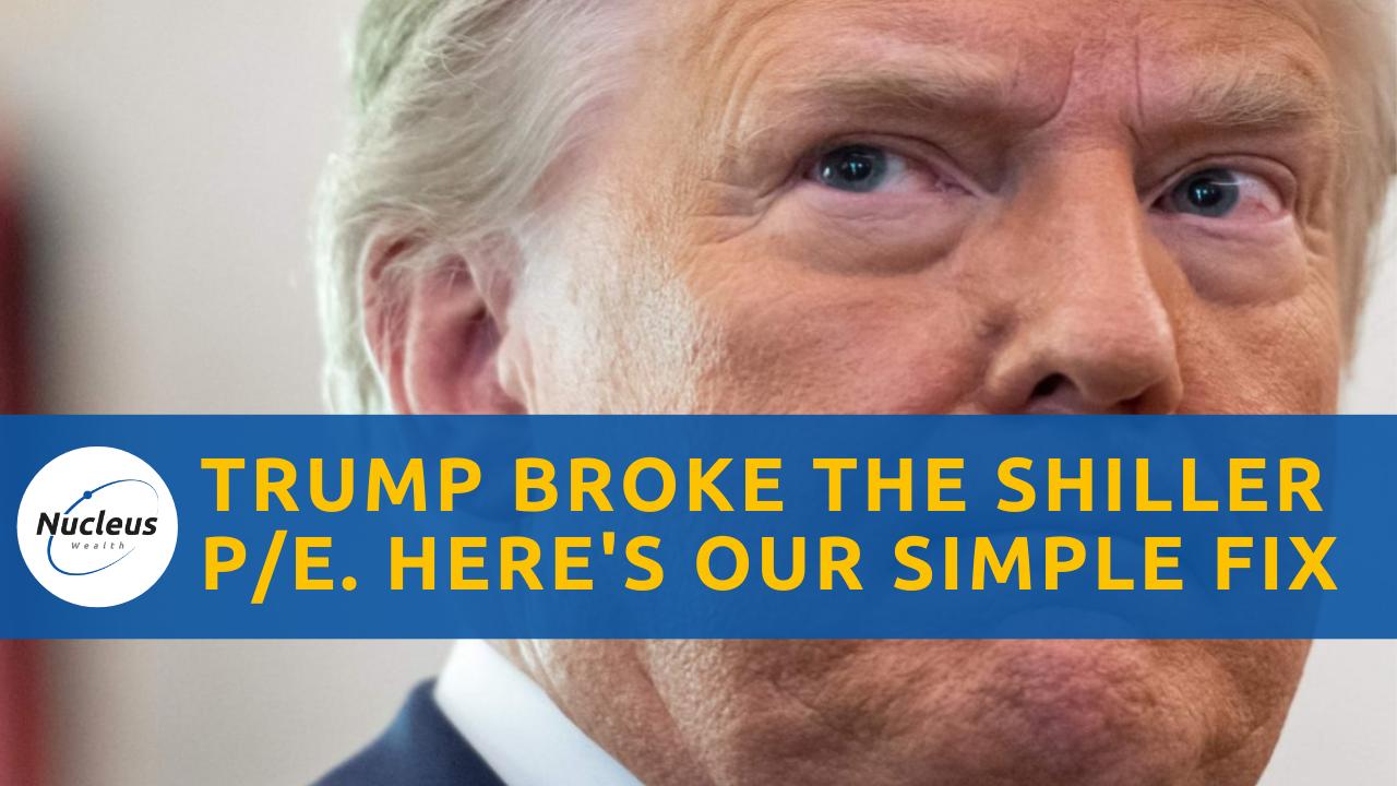 Trump broke Shiller pe ratio episode thumbnail
